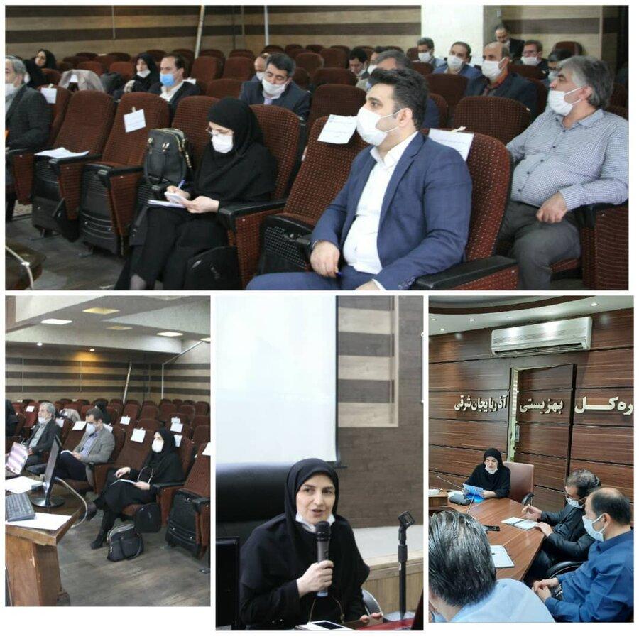 پویش همدلی در اداره کل بهزیستی آذربایجان شرقی