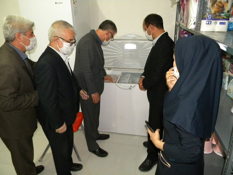 بازدید سرزده مدیرکل بهزیستی استان از روند تکمیل واحدهای موسسه خیریه شکوفه های اردبیل