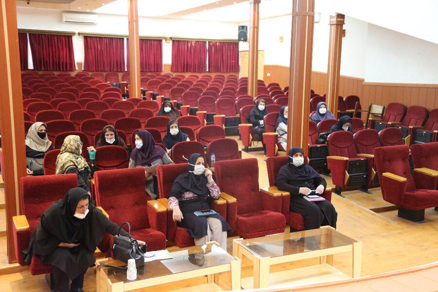 نشست تخصصی مدیر کل بهزیستی مازندران با مدیران مهدهای کودک