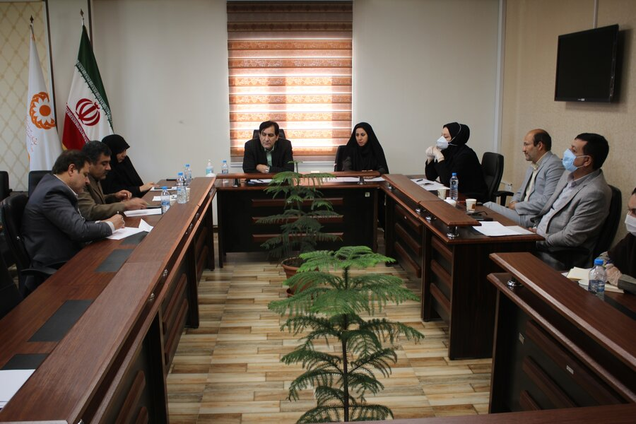 نشست شورای اداری بهزیستی استان با دستور جلسه گرامیداشت هفته بهزیستی برگزار شد