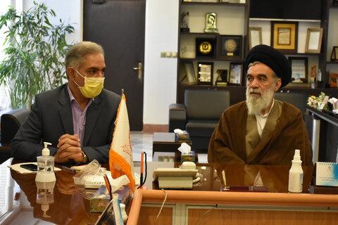 دیدارنماینده مردم مشهد درمجلس خبرگان رهبری با اعضای شورای معاونین بهزیستی خراسان رضوی