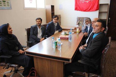 گزارش تصویری | معاون سیاسی ،امنیتی و اجتماعی استانداری البرز از مراکز جامع درمان اعتیاد بهزیستی بازدید کرد