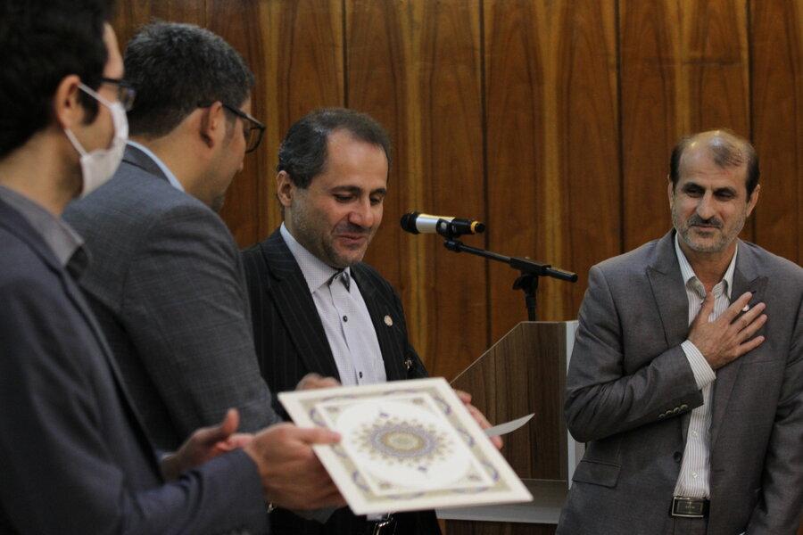 تودیع و معارفه مسئول روابط عمومی استان تهران