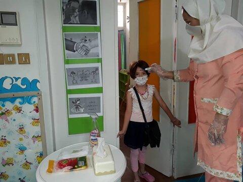 گزارش تصویری(۱) | بازگشایی مهدهای کودک