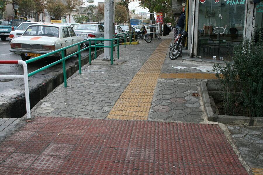 مناسبسازی معابر برای معلولان در زنجان با چشماندازها فاصله دارد