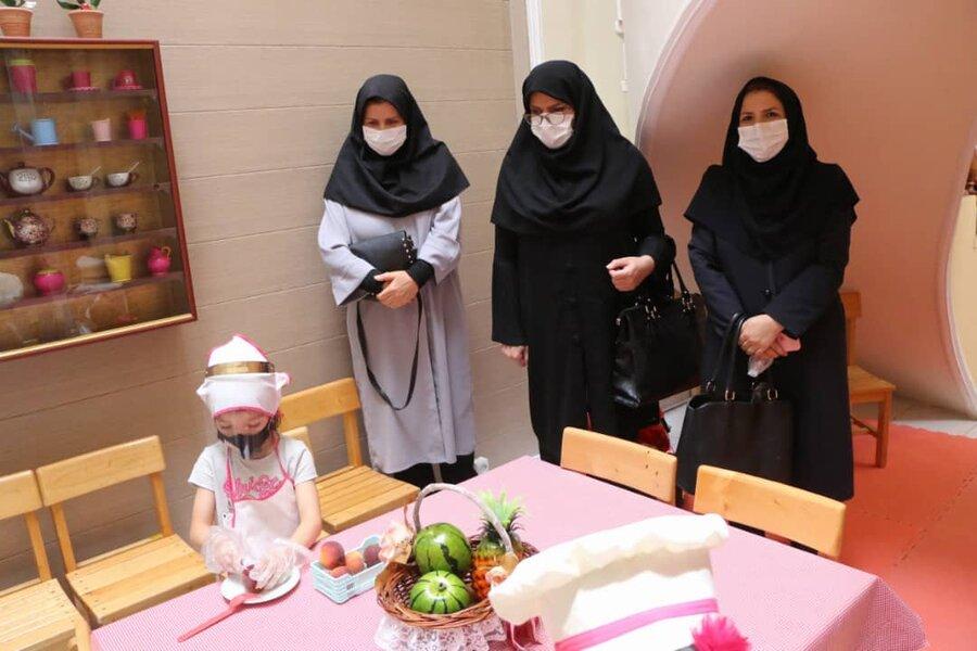 گزارش تصویری| بازگشایی مهدکودک ها با رعایت پروتکل های بهداشتی