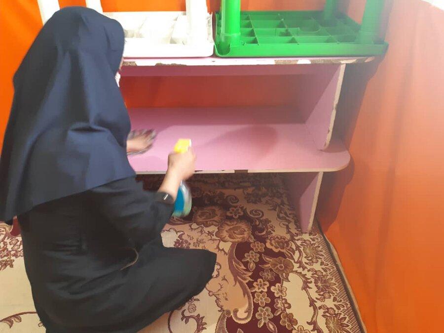 گزارش تصویری(۲)    بازگشایی مهدهای کودک تحت نظارت