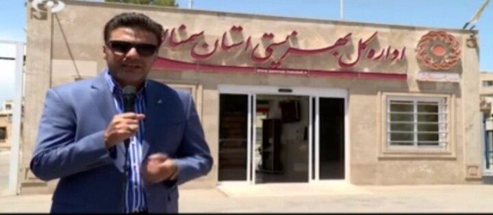 فیلم ا پخش اولین قسمت از برنامه چترنارنجی در سیما استان