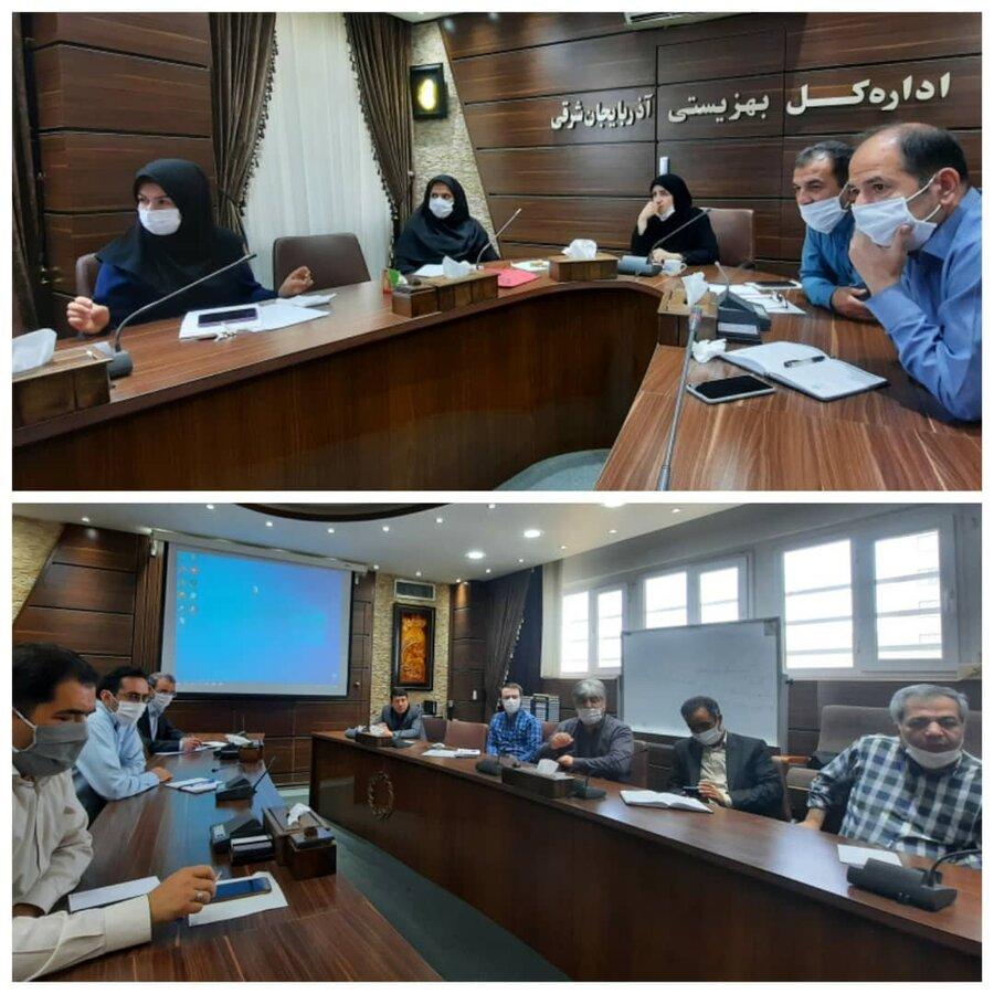 دومین نشست هماهنگی ستاد گرامیداشت هفته بهزیستی آذربایجان شرقی