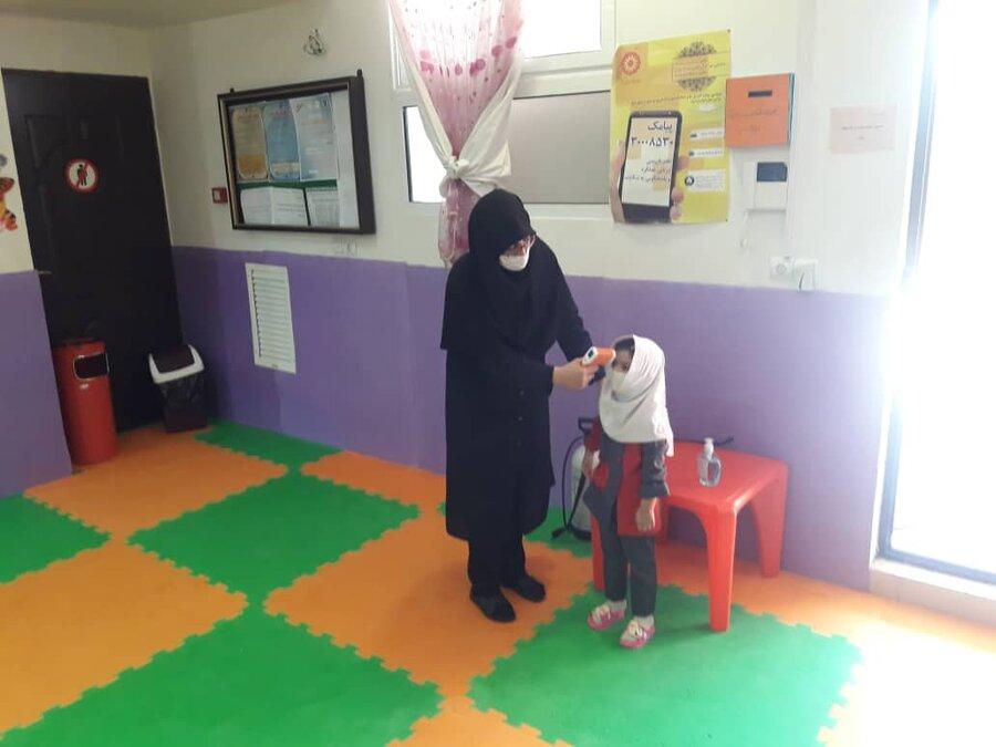 گزارش تصویری(3) | بازگشایی مهدهای کودک