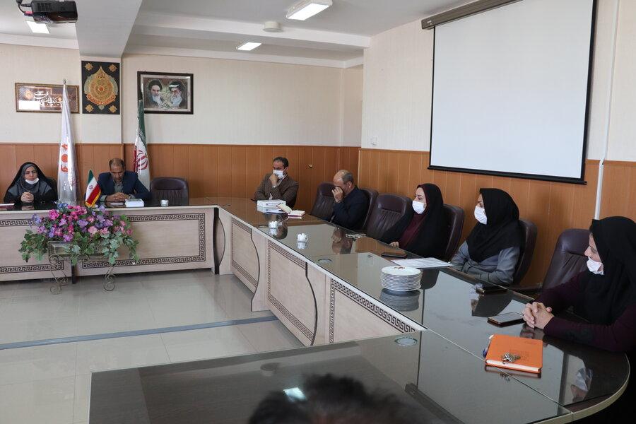 گزارش تصویری/ معرفی سرپرست معاونت پشتیبانی و منابع انسانی بهزیستی استان