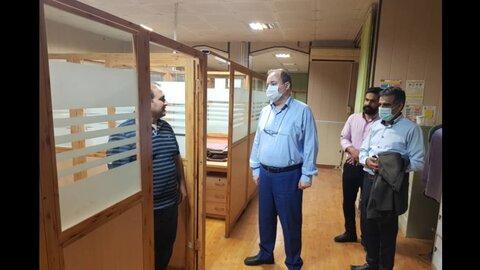 ساری | بازدید سرزده مدیرکل بهزیستی استان مازندران از مرکز اورژانس اجتماعی و سامانه تلفنی 1480