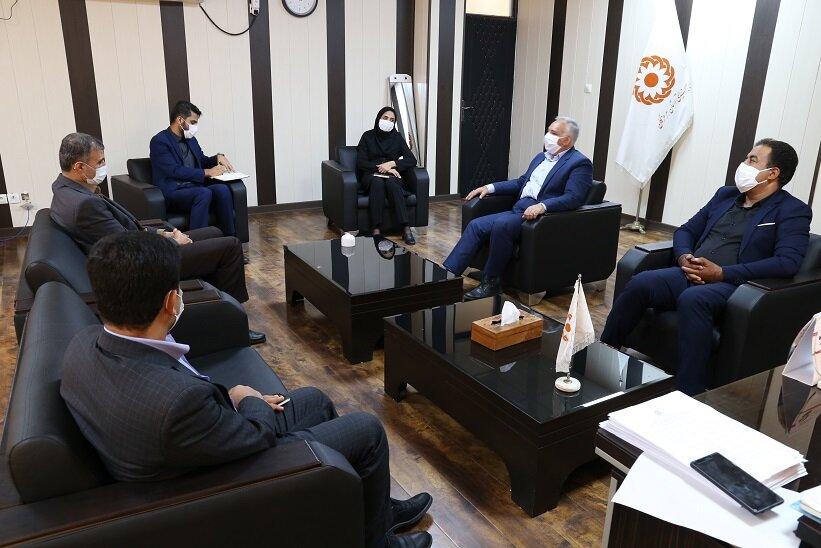دیدار دکتر احمد مرادی نماینده مردم هرمزگان با مدیرکل و معاونین بهزیستی هرمزگان