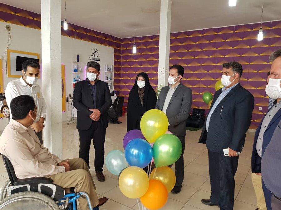 ملارد   اولین آرایشگاه مناسب سازی شده ویژه معلولین در شهرستان ملارد افتتاح شد
