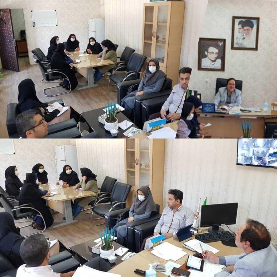 ساوجبلاغ   برگزاری جلسه هماهنگی برنامه های هفته بهزیستی