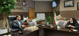 کاشان| دیدار معاون مدیرکل،رئیس و کارشناسان بهزیستی شهرستان با دادستان شهرستان همزمان با هفته قوه قضائیه