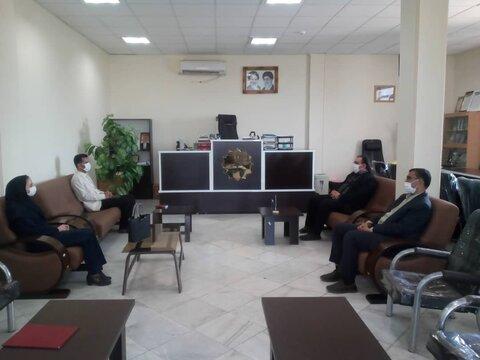در دیدار رئیس بهزیستی جیرفت با رئیس دادگستری بر ارتقاء برنامه های خانواده محور برای کاهش ورودی های تاکید شد