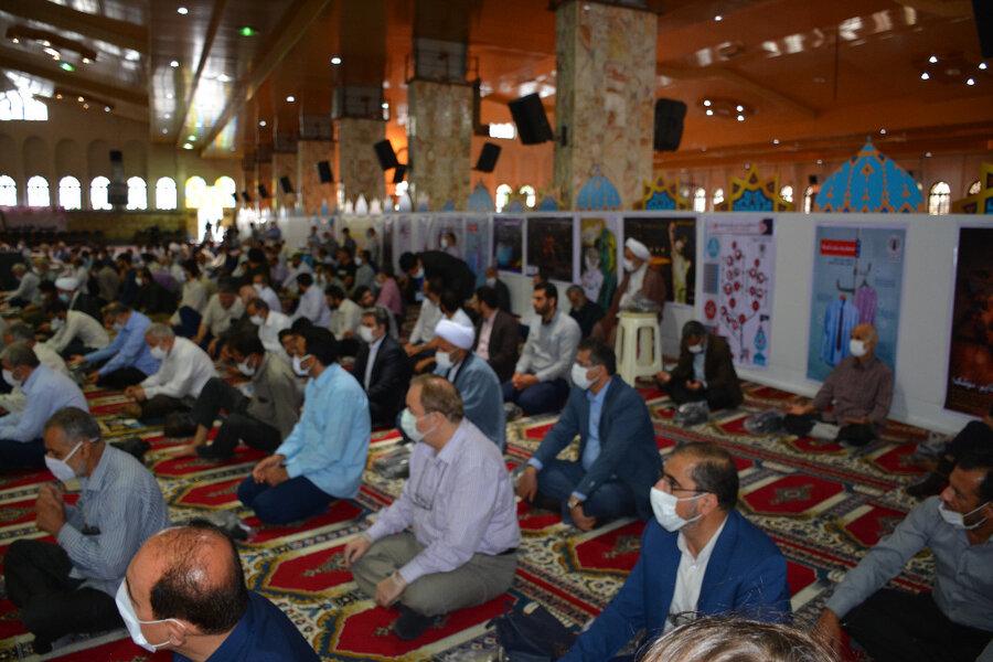گزارش تصویری | حضور مدیر کل بهزیستی مازندران در مراسم گرامیداشت  شهدای  گرانقدر هفتم تیر