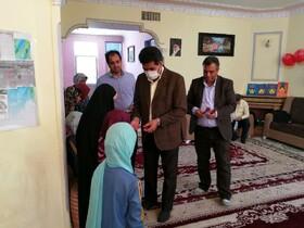مدیر کل بهزیستی خراسان جنوبی بمناسبت روز دختر با فرزندان دختر خانه رضوان شهرستان زیرکوه دیدار نمود