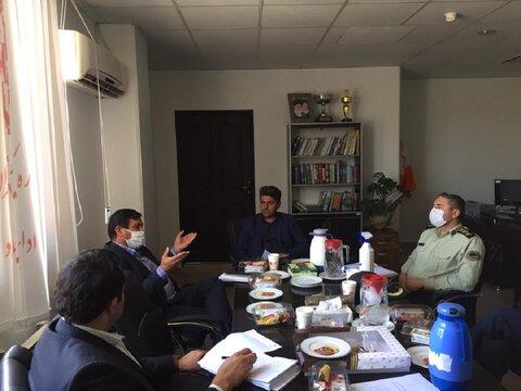 ملارد | جلسه ساماندهی افراد مجهول الهویه در بهزیستی شهرستان ملارد برگزار شد