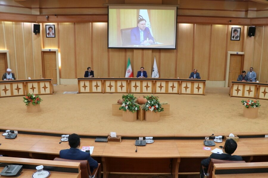 جلسه شورای سالمندان استان
