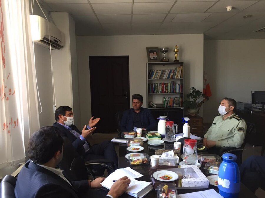 ملارد   جلسه ساماندهی افراد مجهول الهویه در بهزیستی شهرستان ملارد برگزار شد