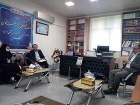 دیدار مدیرکل بهزیستی استان کرمانشاه با دادستان عمومی و انقلاب