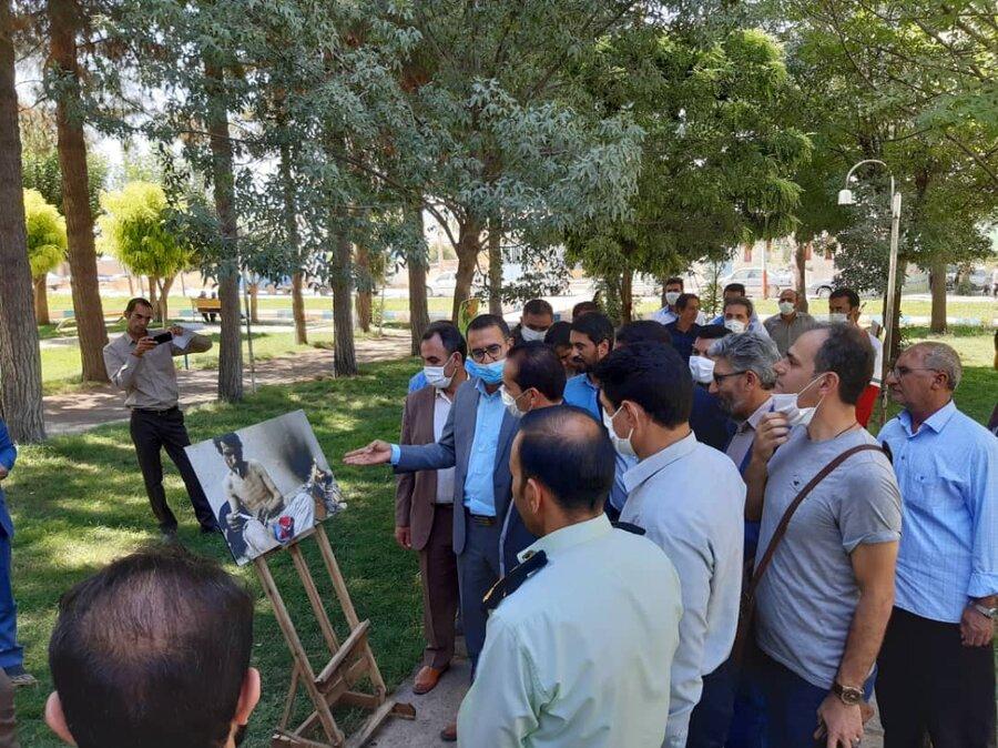 سیروان|برپایی نمایشگاه عکس اعتیاد در سیروان