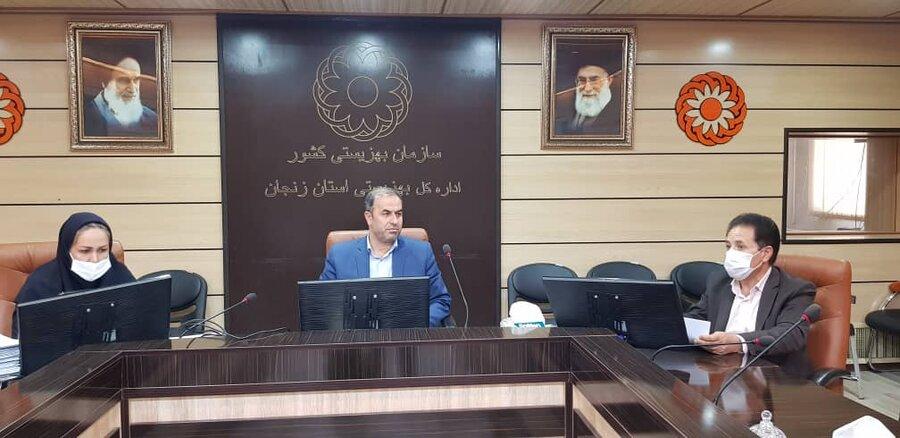 گزارش تصویری از بررسی نتایج ثبت نام و مصاحبه مراکز مثبت زندگی با حضور مدیرکل بهزیستی استان زنجان