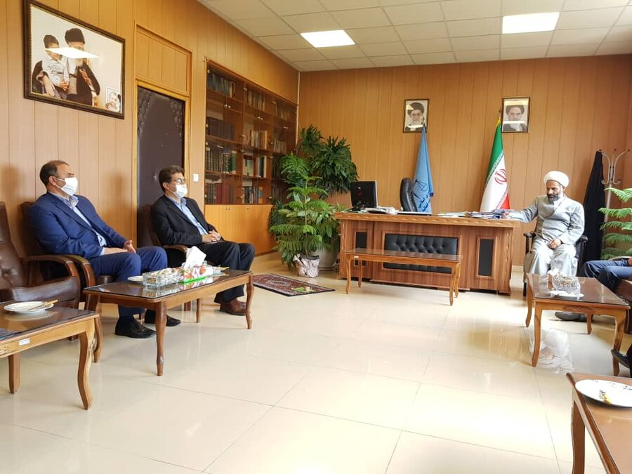 گزارش تصویری | دیدار مدیر کل بهزیستی استان زنجان با دادستان عمومی زنجان به مناسبت هفته بزرگداشت قوه قضائیه