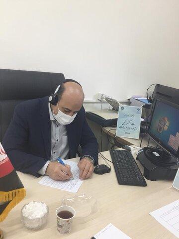 پاسخگویی  غیر حضوری مدیر کل بهزیستی استان کرمان به متقاضیان در سامد