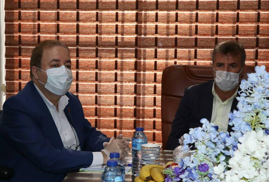 گزارش تصویری| بازدید مدیر کل بهزیستی مازندران از اداره بهزیستی شهرستان آمل