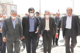 گزارش خبری ا بازدید استاندار اردبیل از پروژه مسکن مددجویان بهزیستی