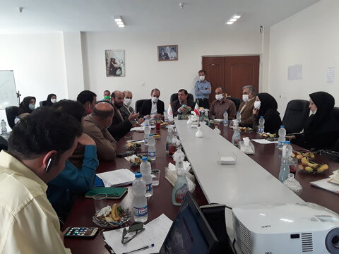 چهارمین جلسه هماهنگی و برنامه ریزی گرامیداشت هفته بهزیستی برگزار شد