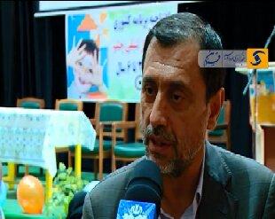مصاحبه مدیر کل بهزیستی قزوین در افتتاحیه غربالگری بینایی