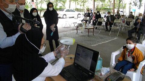 گزارش تصویری  ا  افتتاح برنامه کشوری پیشگیری از تنبلی چشم دراستان اردبیل