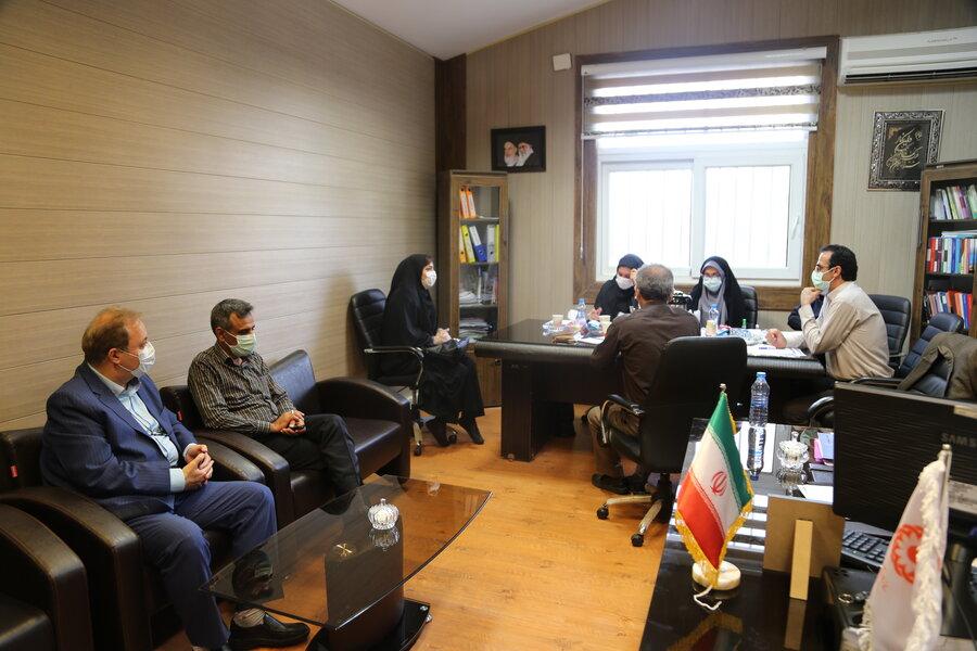 گزارش تصویری   بازدید مدیر کل بهزیستی مازندران از روند مصاحبه حضوری متقاضیان تاسیس مراکز مثبت زندگی