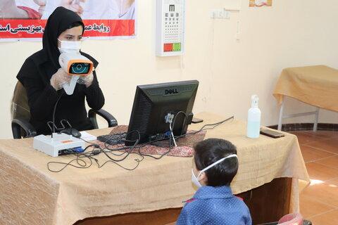 گزارش تصویری  آغاز اجرای برنامه پیشگیری از تنبلی چشم