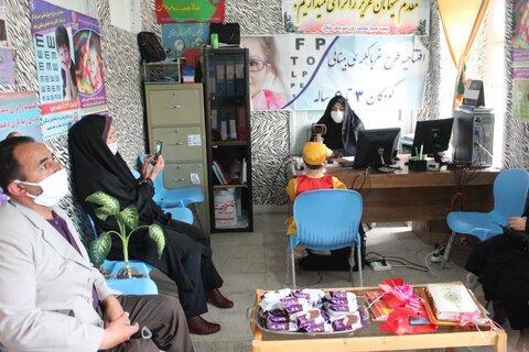 خلخال ا غربالگری بینایی کودکان در بهزیستی شهرستان خلخال