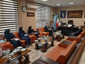 مدیرکل بهزیستی استان با دادستان عمومی و انقلاب البرز دیدار کرد