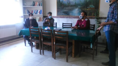 کبودراهنگ|بازدید رئیس بهزیستی شهرستان از مرکز ماده 16
