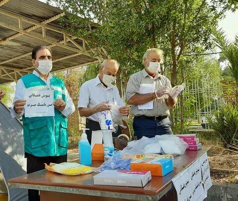 رزمایش سفیران سلامت در بهزیستی شهرستان دزفول برگزار شد