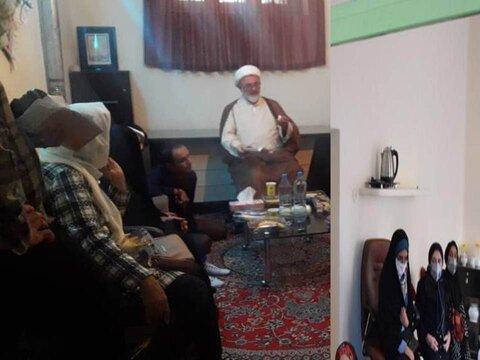 شاهرود ا دیدار امام جمعه شاهرود با اعضای جامعه معلولین جسمی حرکتی