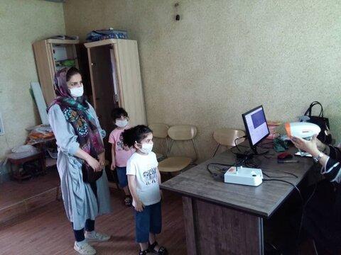 گزارش تصویری  اجرای طرح پیشگیری از تنبلی چشم کودکان 3 تا 6  سال در شهرستان های چالوس و تنکابن