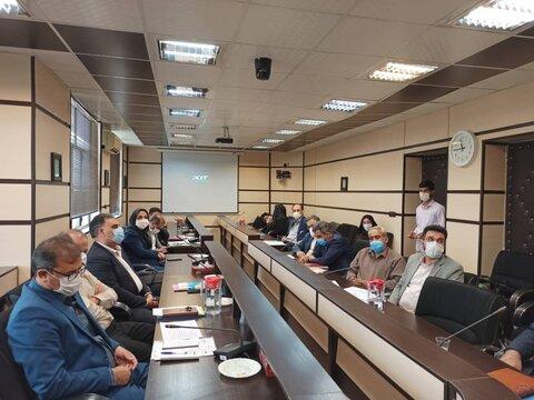 گرمسار | نشست تخصصی دستگاه های زیر مجموعه وزارت تعاون، کار و رفاه اجتماعی