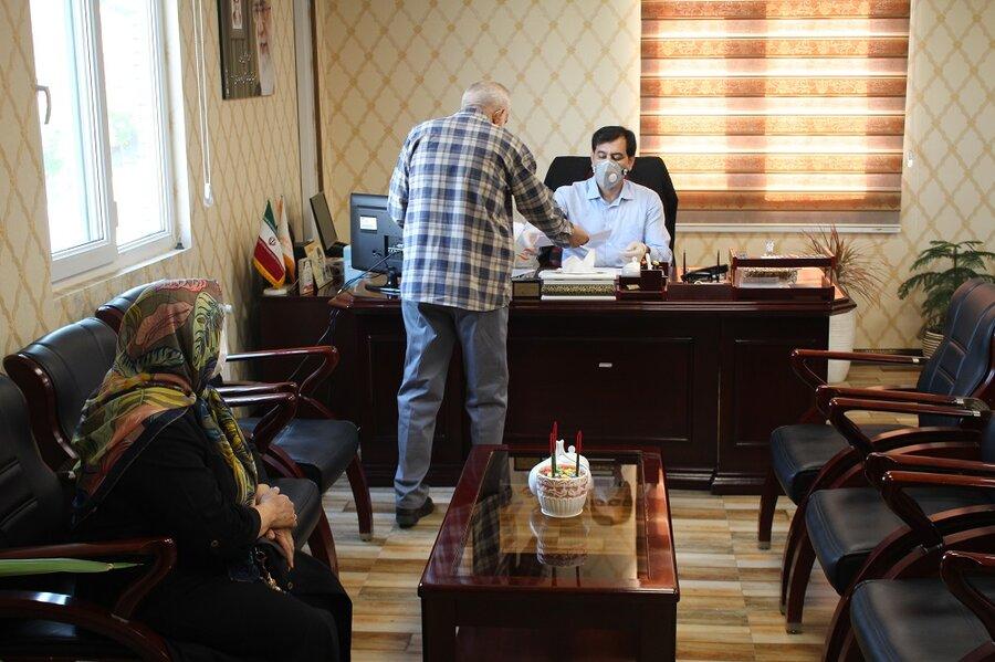 ملاقات حضوری مدیرکل بهزیستی البرز و مددجویان تحت پوشش