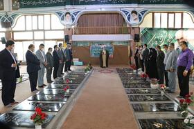 تجدید میثاق با آرمانهای شهدای انقلاب اسلامی به مناسبت گرامیداشت هفته بهزیستی