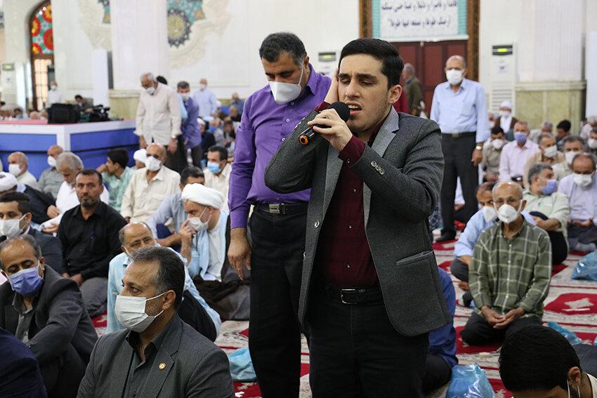 سخنرانی دکتر حسین نحوی نژاد در خطبه های پیش از نماز جمعه