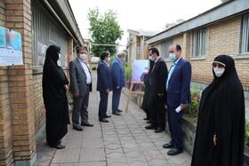 گزارش تصویری  برپایی نمایشگاه عکس عفاف و حجاب در اداره کل بهزیستی استان مازندران