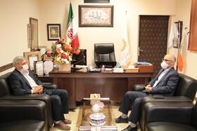 دیدار رئیس سازمان امور عشایر کشور با مدیر کل بهزیستی استان سمنان در اولین روز از هفته بهزیستی